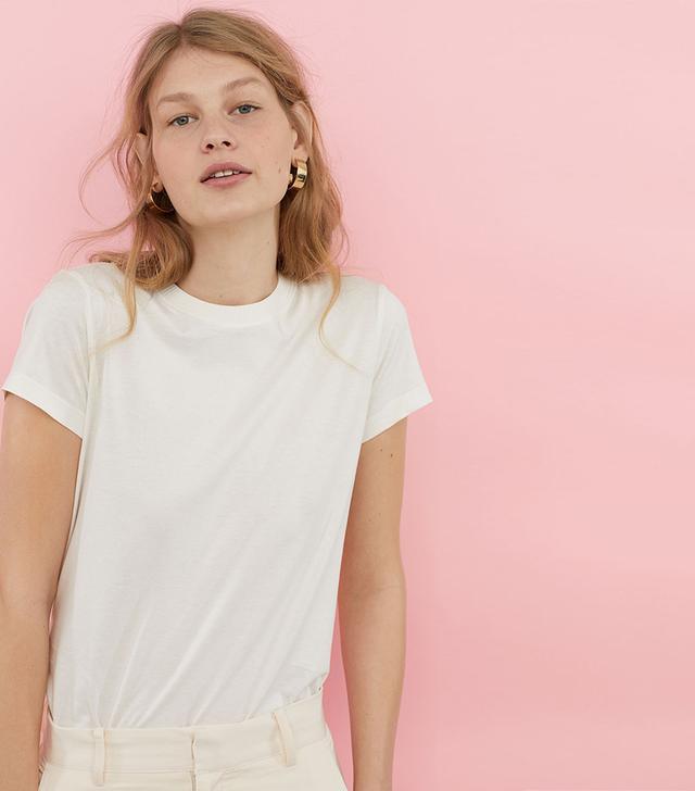 Silk-blend Jersey Top