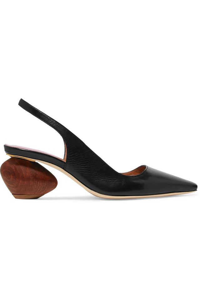 Rejina Pyo Margot Leather Slingback Pumps