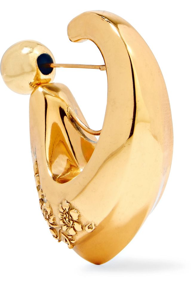 Ellery Chisolm Gold-Plated Earring