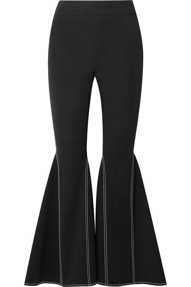 Beaufille Aldra Stretch Cotton Flared Pants
