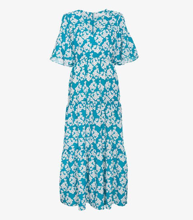 Borgo de Nor Dora Floral Tier Dress