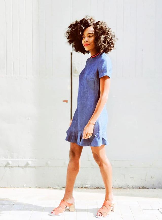 Shoe styles to wear with dresses: Freddie Harrel