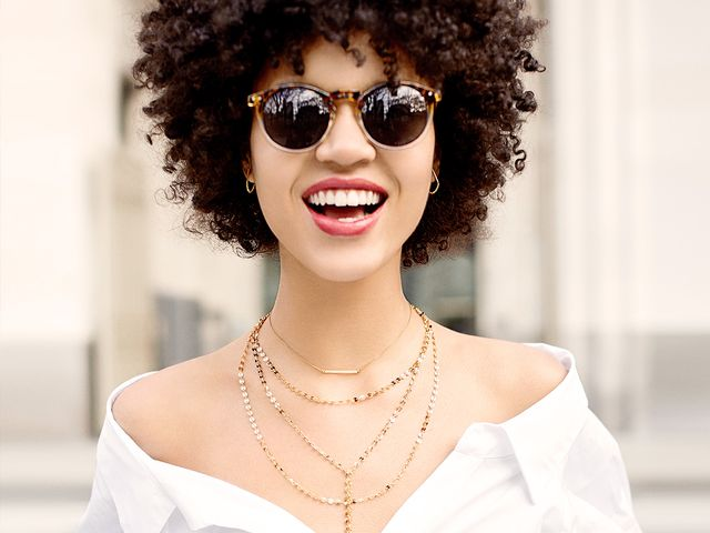 necklace layering—BaubleBar