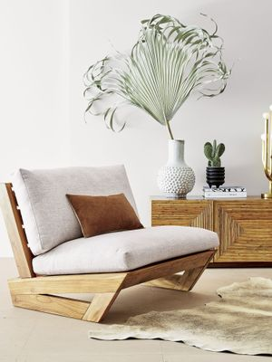 The Chic Outdoor CB2 Chair We're 100% Using in Our Homes Year-Round