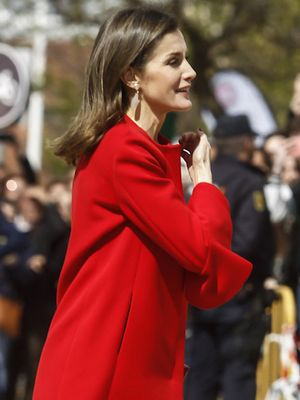 Queen Letizia's Pant-and-Shoe Combo Instantly Elongates Her Legs