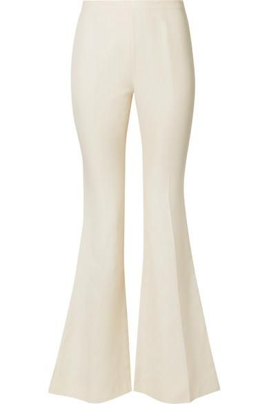 Canvas Flared Pants