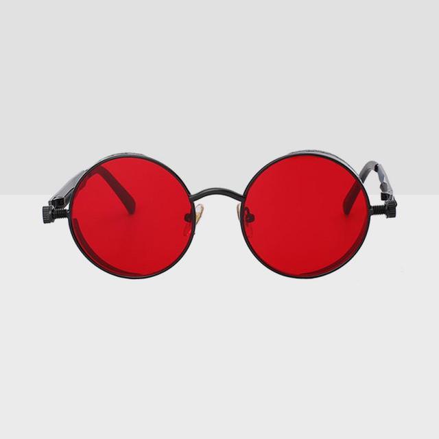 Linder Round Hipster Sunglasses