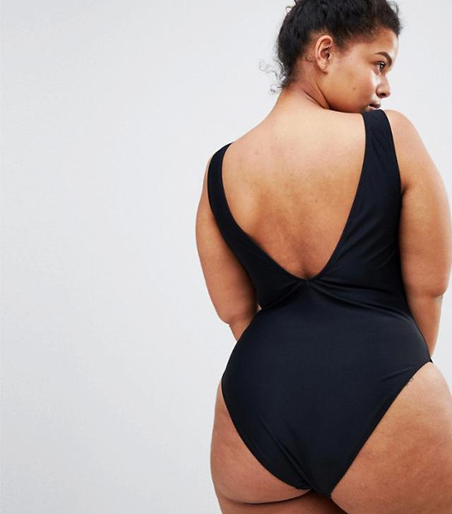 Curve High Leg Plunge Swimsuit