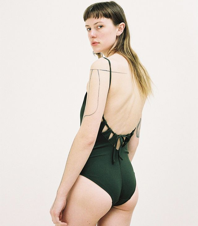 Mikka Swimsuit Olive