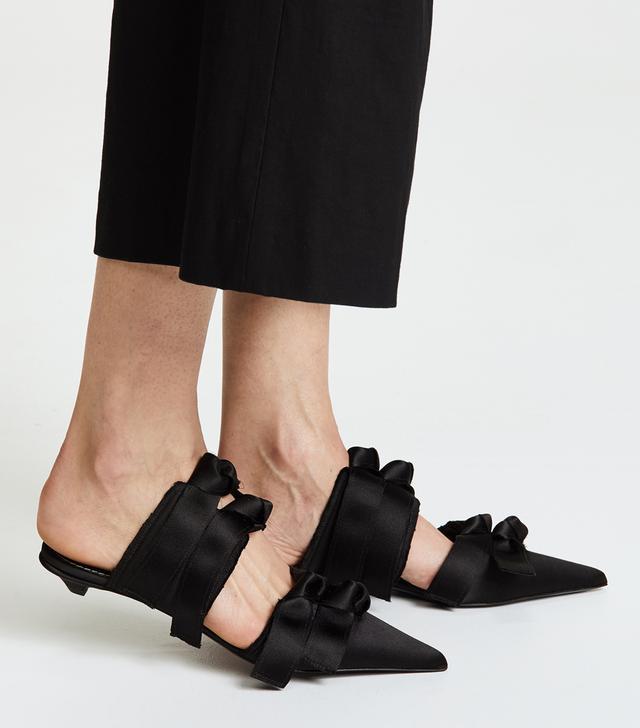 Pointed Kitten Heel Flats