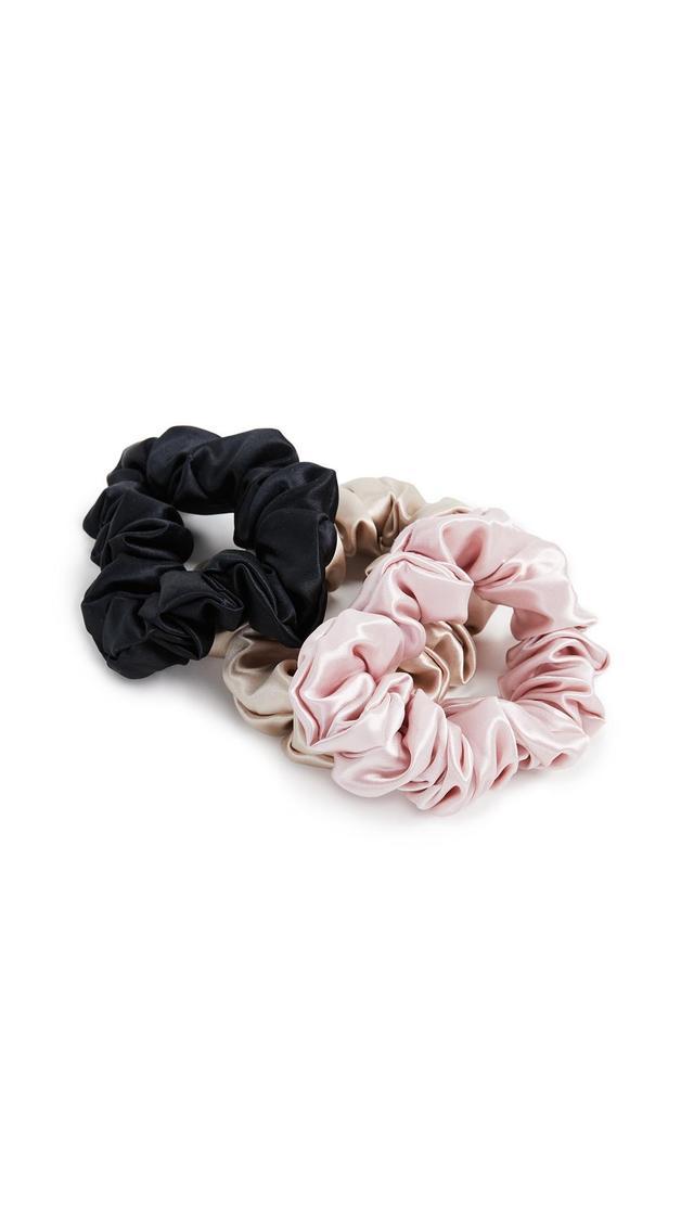 Pure Silk Scrunchie Set