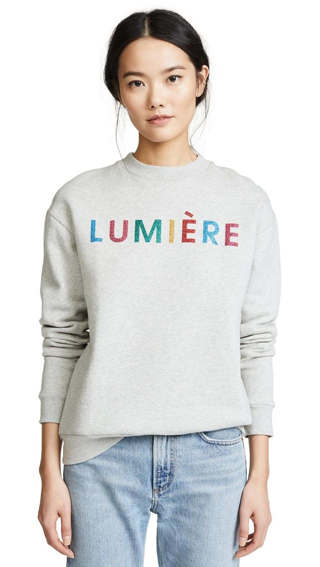 Lumiere Boyfriend Sweatshirt