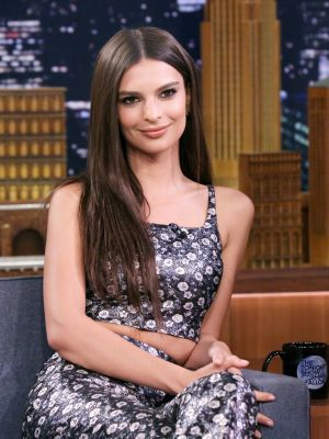 Emily Ratajkowski Explains Why She Got Married in a $200 Yellow Pantsuit
