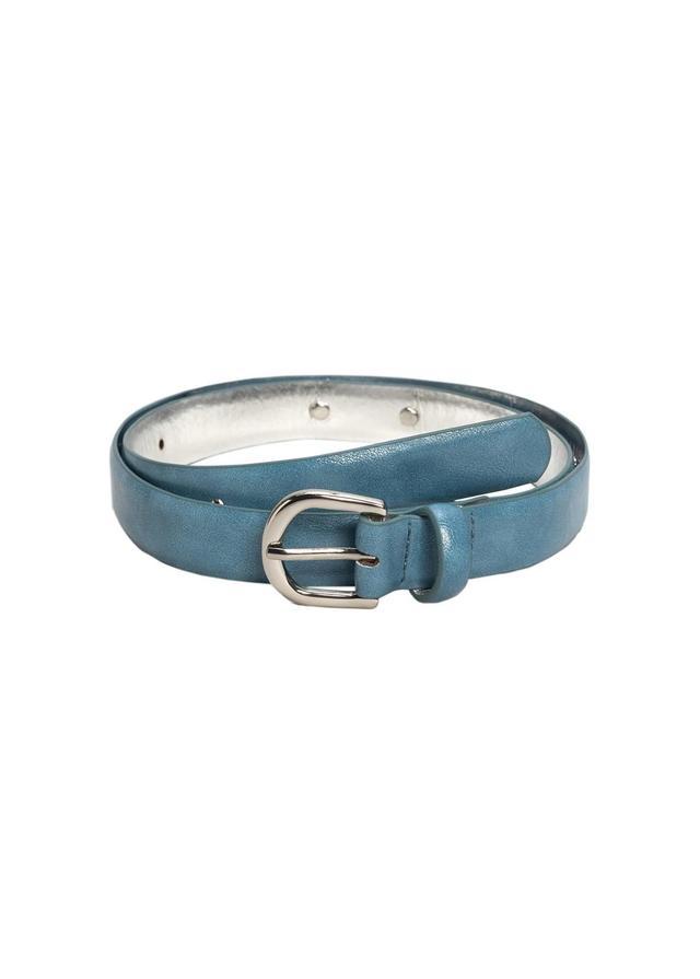 Appliqué Skinny Belt