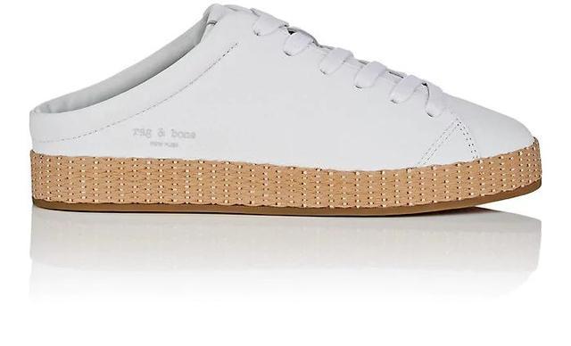 Women's RB1 Leather Mule Sneakers