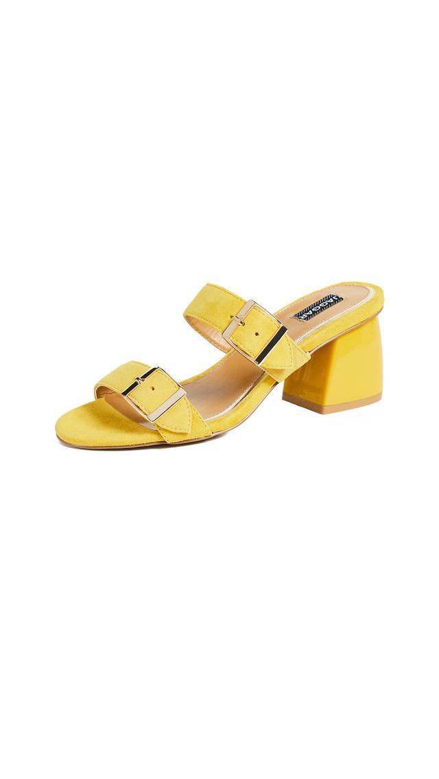 Two Step Block Heel Sandals