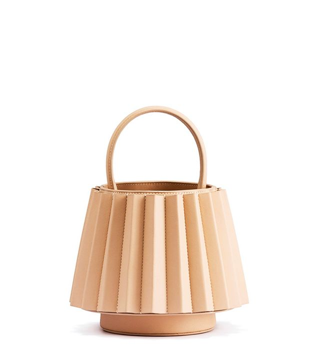 Mlouye Mini Lantern Bag Pleated
