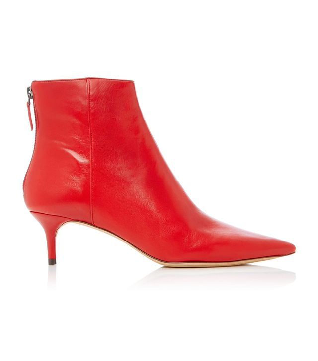 M'O Exclusive Kittie Leather Boots