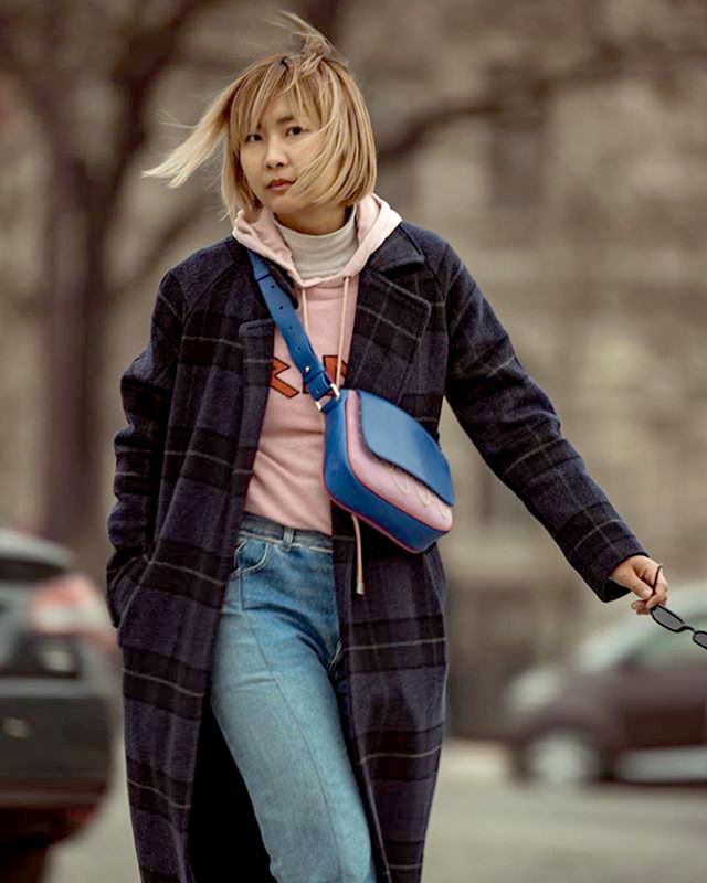 Clever layering is key to staying cosy.
