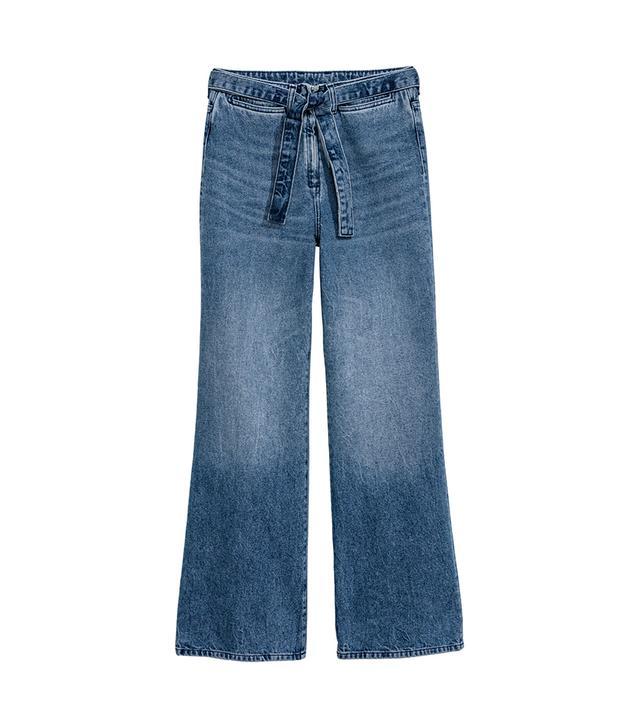 Wide High Waist Jeans