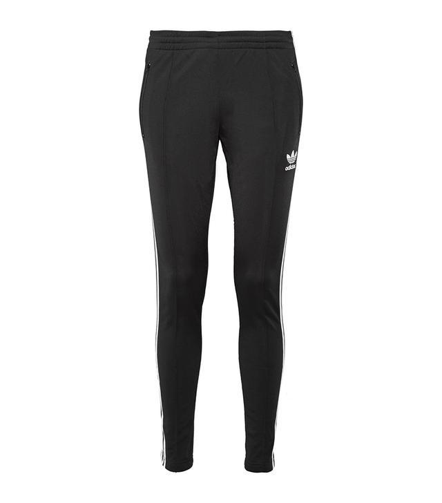 Superstar Striped Stretch-jersey Track Pants