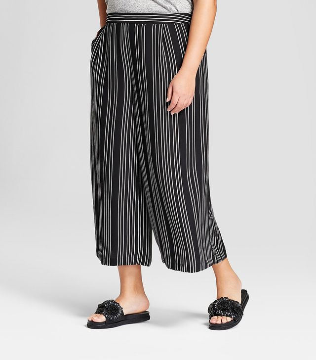 A New Day Striped Crop Pants