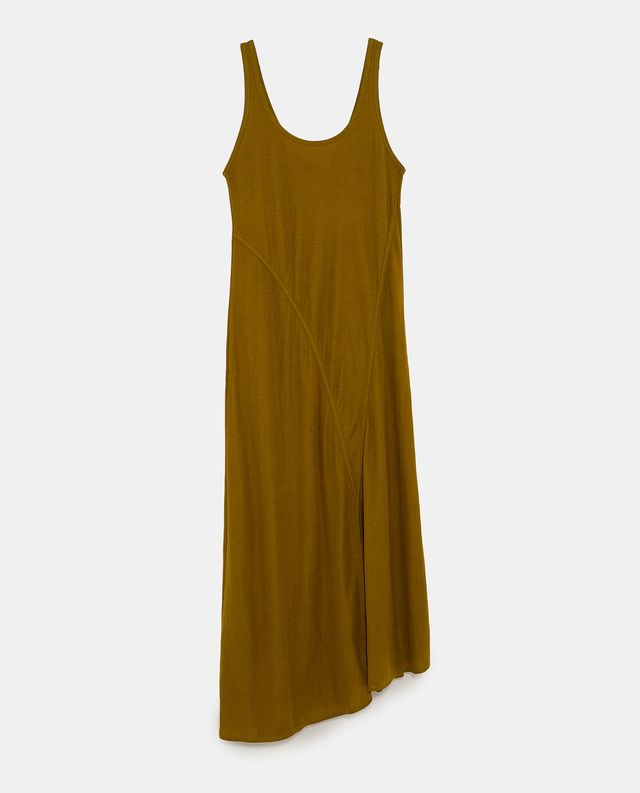 Zara Loose Fitting Dress With Straps