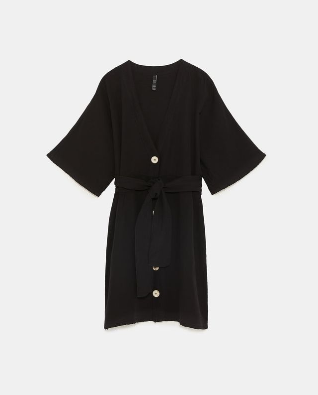 Zara Dress With Belt