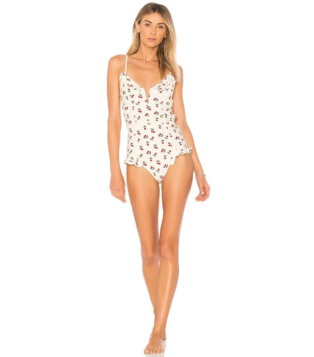 Mon Cheri One Piece in Ivory. - size S (also in L,M,XS)