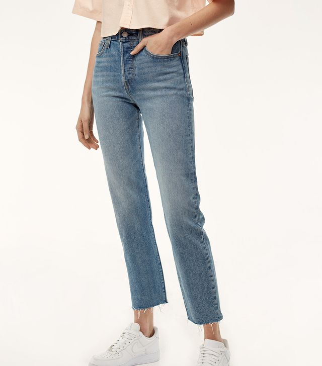 Levi's Straight Wedgie Rough Jeans