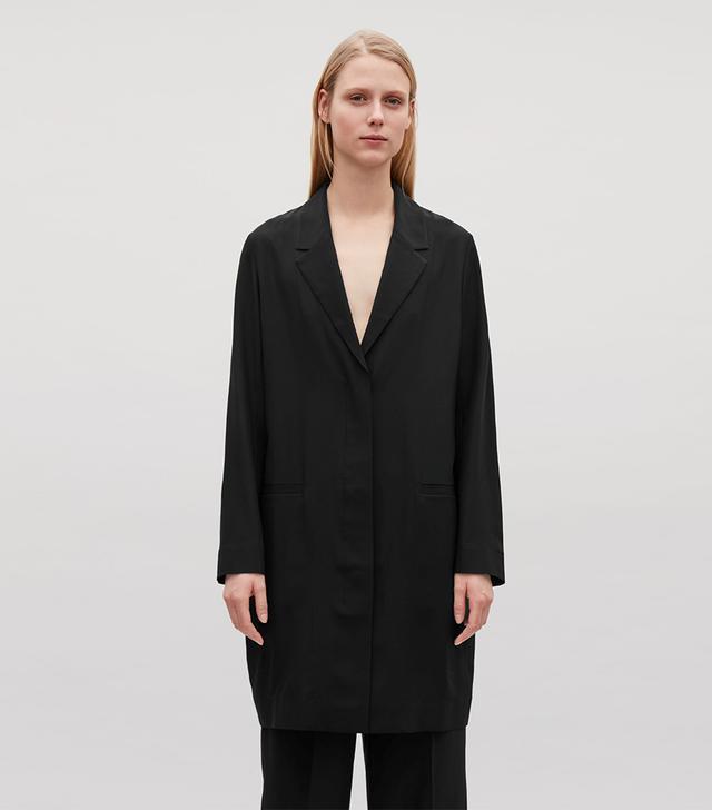 COS Silk Blazer
