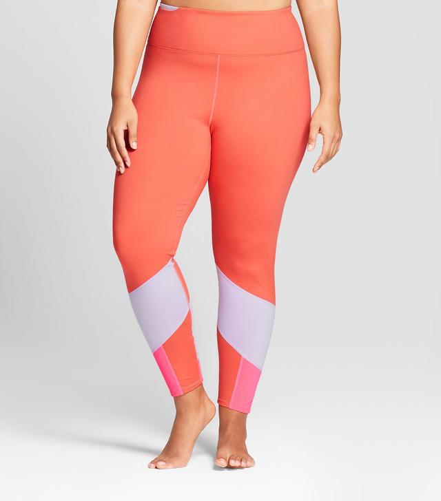 JoyLab Comfort 7/8 Color Block Leggings