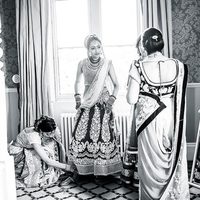 Best Indian Wedding Dresses: Sejal Kapadia Pocha in her Wedding Dress