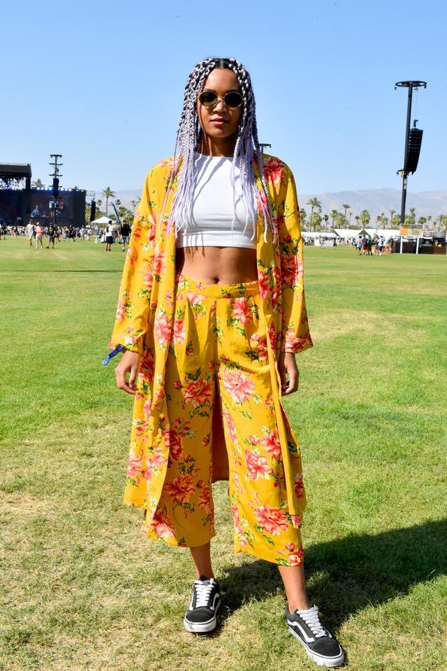 street style at Coachella 2018