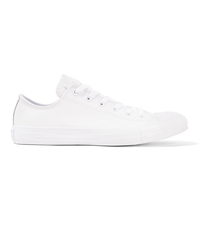 Converse Chuck Taylor All Star Textured-Leather Sneakers