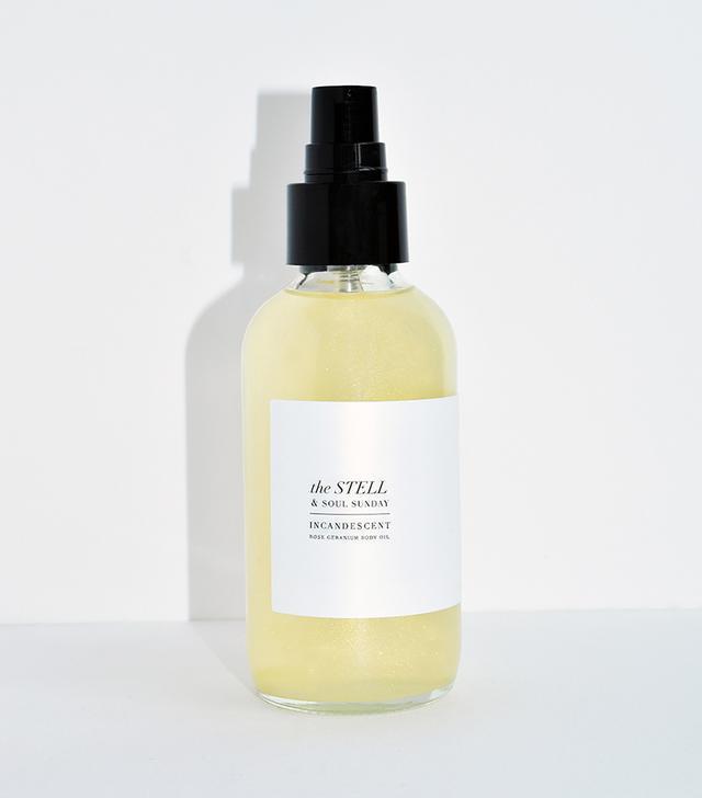 The Stell & Soul Sunday Incandescent Rose Geranium Body Oil