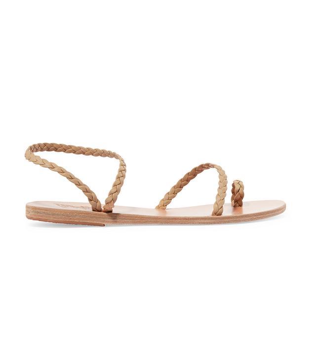 Eleftheria Braided Leather Sandals