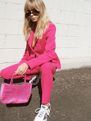 How to Pull Off a Bright Blazer Outfit Like You Mean It