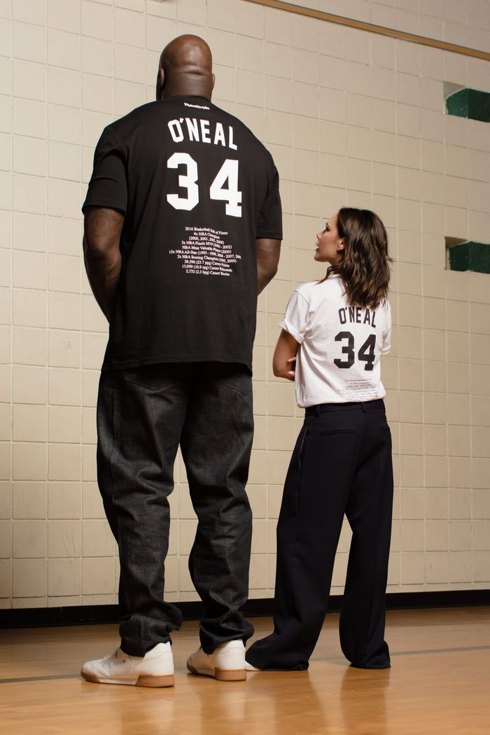 Victoria Beckham and Shaq: Reebok Capsule Collection
