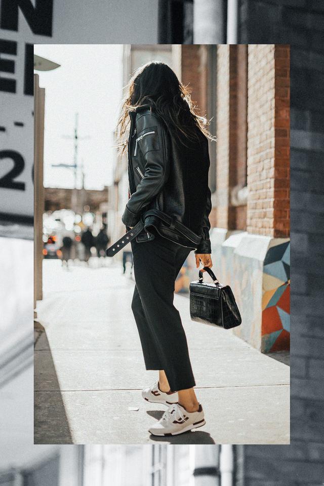 blogger sneaker style