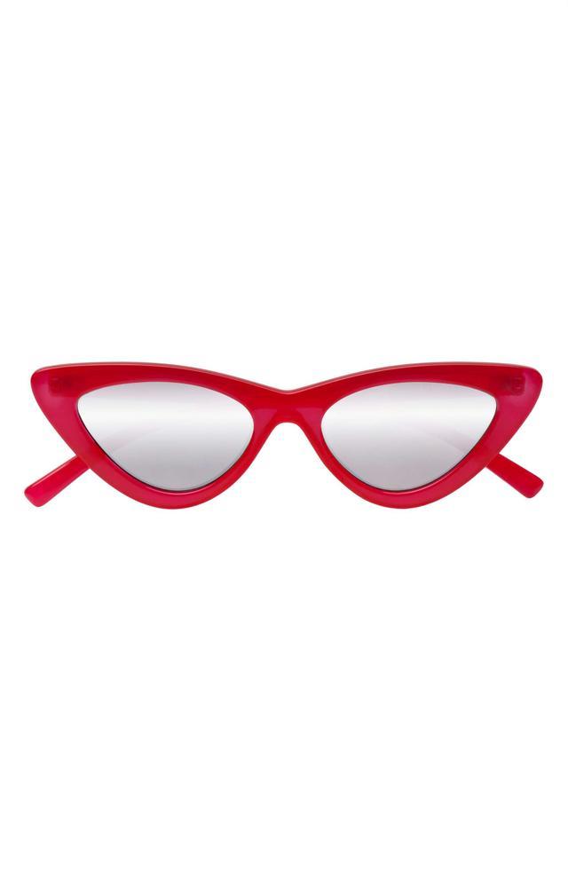 X Adam Selman Last Lolita 49Mm Cat Eye Sunglasses - White