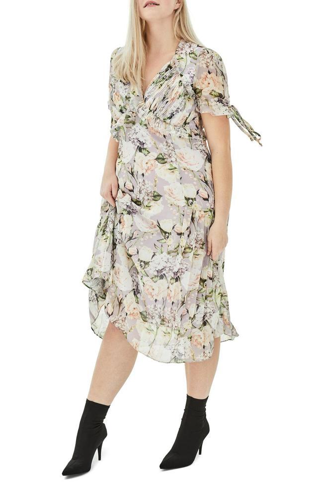 Elvi The Sweet Pea Floral Midi Dress