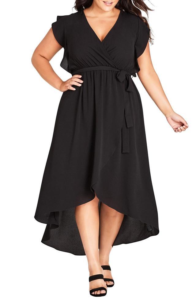 Lolita High/Low Maxi Dress