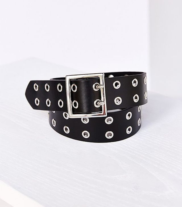 Square Double Prong Belt