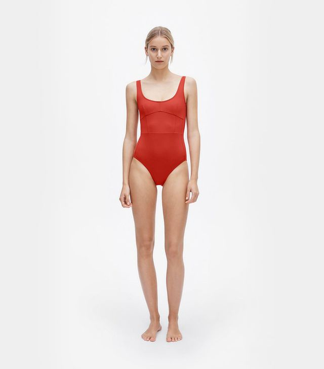 Her Line Marni One-Piece Lava Red