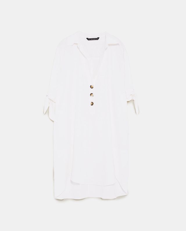 Zara Tunic With Buttons