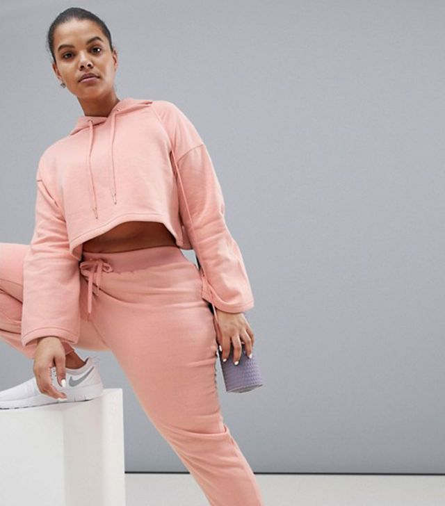 Joggers in Blush