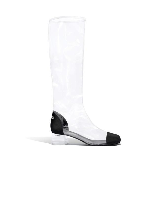 Transparent High Boots
