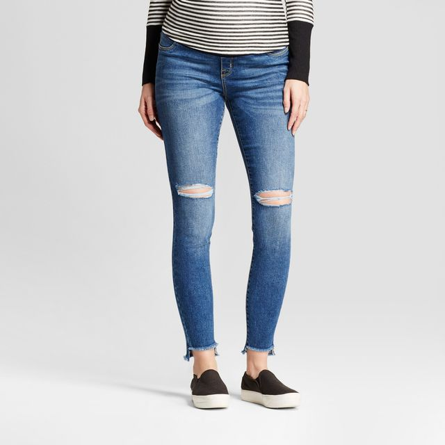 Isabel Maternity Crossover Panel Skinny Jeans