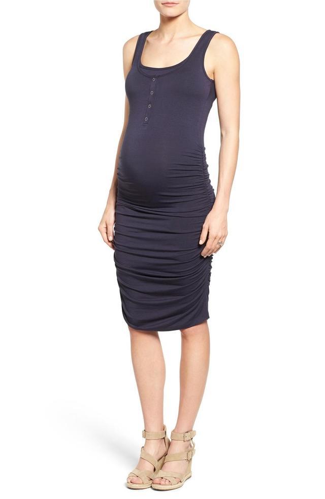 Sleeveless Maternity/nursing Dress